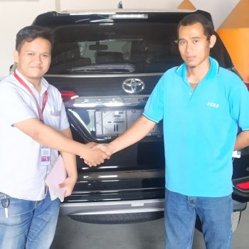 Delivery Fortuner VRZ AT Diesel